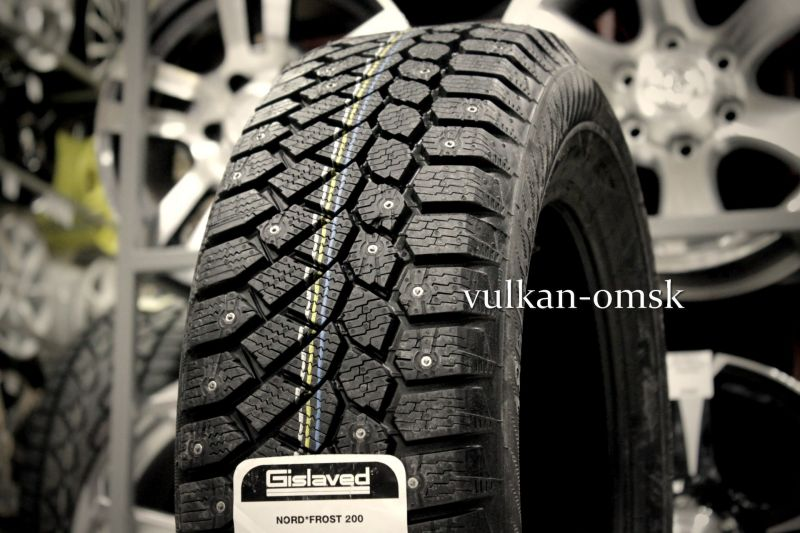 Gislaved Nord Frost 200 ID 225/70 R16 107T (шип.)