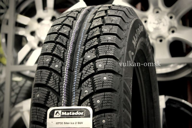 Matador MP-30 Sibir Ice2 205/70 R15 96T (шип)