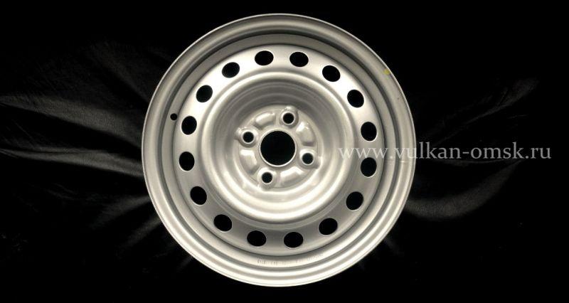 Диск Штамп. R15 4*100 +48/54,1 silver Racing