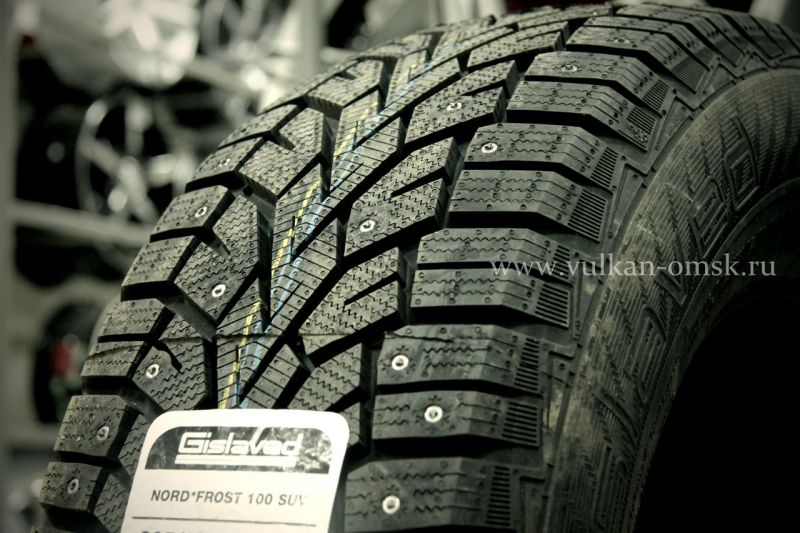 Gislaved Nord Frost 100CD 225/65 R17 102T (шип.)
