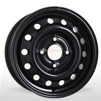 Диск Штамп. R15 4*100 +50/60.1 Черный Metrwheels
